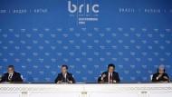 Damals war die Welt der Schwellenländer noch in Ordnung: 2009 beim Gipfel der sogenannten BRIC-Länder Brasilien, Russland, Indien und China.