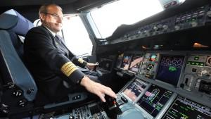Zu klein für den Piloten-Job?
