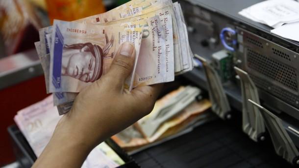 Venezuela am Rand des Kollaps'