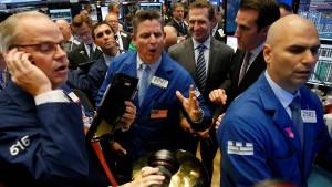 Börsianer zwischen Konjunktursorgen und Rekordhoffnungen