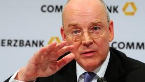 Commerzbank-Aktien im Aufwind