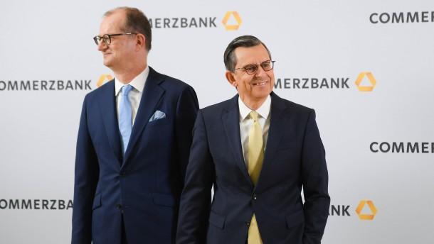 Commerzbank-Aktie sehr gefragt