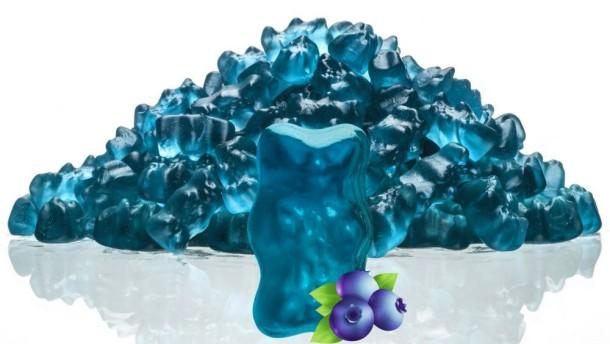 Haribo bringt blaues Gummibärchen