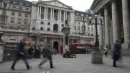 Die Bank of England sorgt am Donnerstag für einen steigenden Kurs des Pfundes.