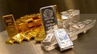 Zu Gold und Silber rat ich sehr