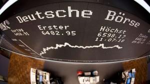 Handel an der Deutschen Börse schwächt sich im Mai ab