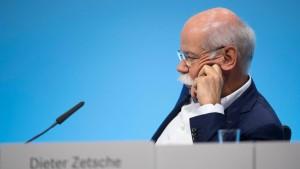 Daimler-Aktienkurs fällt