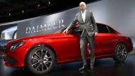 Daimler-Chef Dieter Zetsche kann seine Aktionäre derzeit zufriedenstellen.