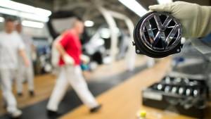 Volkswagen-Aktie unter Druck