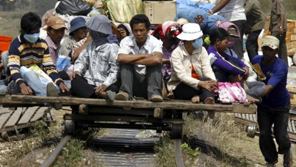 Die Bambusbahn muss wohl weichen