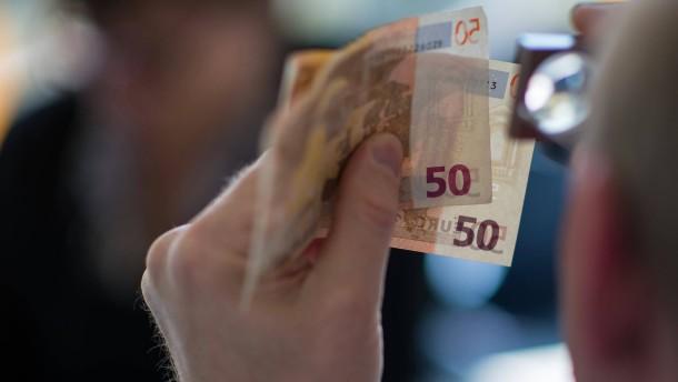 Weltweit weniger Euro-Falschgeld