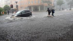 Hilfe für Unwetteropfer