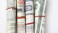 Aktienanlage mit Zertifikaten: Gerollt, gebündelt, neu verpackt