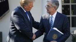 Ist die Unabhängigkeit der amerikanischen Geldpolitik bedroht?