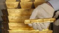 Gold ist bei den Anlegern wieder mehr gefragt.