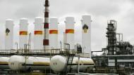 Raffinerie im sibirischen Atschinsk