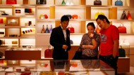 Nicht nur Luxusartikel von Louis Vuitton sind bei den Kunden gefragt.