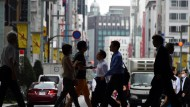 In Japan wird die Arbeit knapp