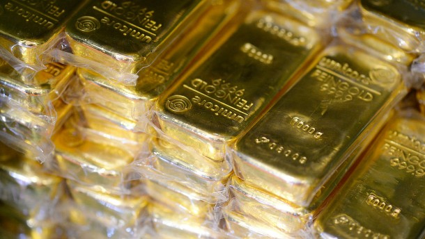 Der Abstieg des Goldes