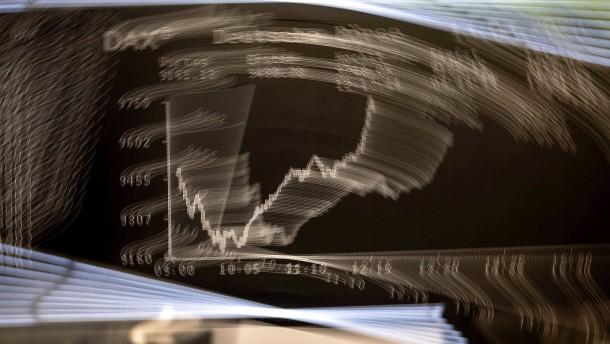 Aktienkurse fallen abermals deutlich