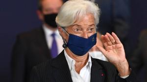 Lagarde: Europa nur begrenzt von Evergrande betroffen