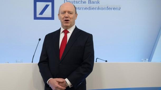 Die Deutsche Bank überzeugt die Börse nicht