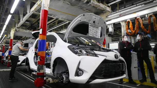 Geschäftsklima in Japan steigt auf Vor-Covid-Niveau