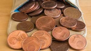 Banken ehren den Cent nicht mehr