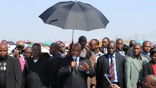 Südafrikas Regierung plant Roadshow bei Investoren