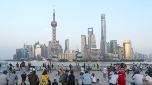 Chinesische Aktien im Abwärtstrend