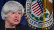 Fed-Vorsitzende Janet Yellen will nichts versprechen