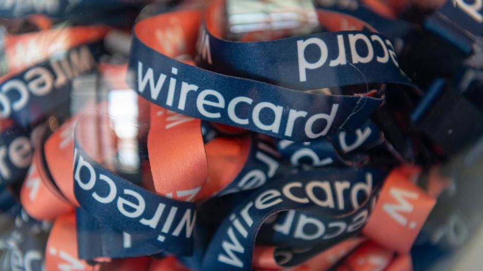 Szene währende der Hauptversammlung von Wirecard im Jahr 2019