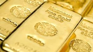 Der Goldpreis steigt wieder über 1400 Dollar