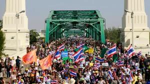Zunehmende Unruhen in Thailand