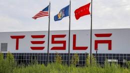 Hohe Auslieferungen lassen Tesla-Kurs steigen