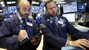 Unter der ruhigen Oberfläche der Wall Street brodelt es