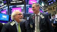 Die Stimmung an den Börsen ist gut, Fondsmanager gehen wieder mehr Risiken ein