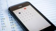 Terminplanung leicht gemacht – mit dem Handy.