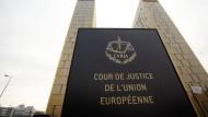 Die beiden Türme des Europäischen Gerichtshofs in Luxemburg