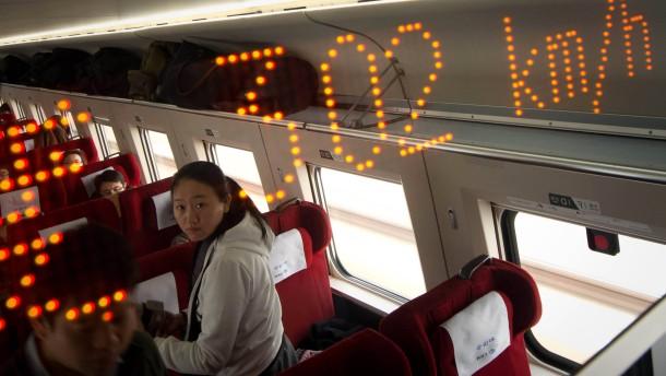 Im Zug von China nach Amerika
