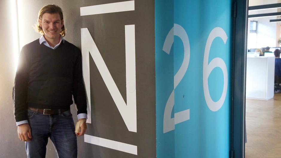 Valentin Stalf, Gründer der N26 Bank