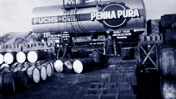 Fuchs Petrolub Kesselwagen