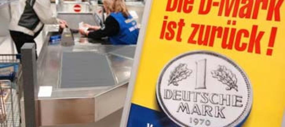 D Mark Statt Euro Neue Waren Für Alte Münzen Finanzen Faz