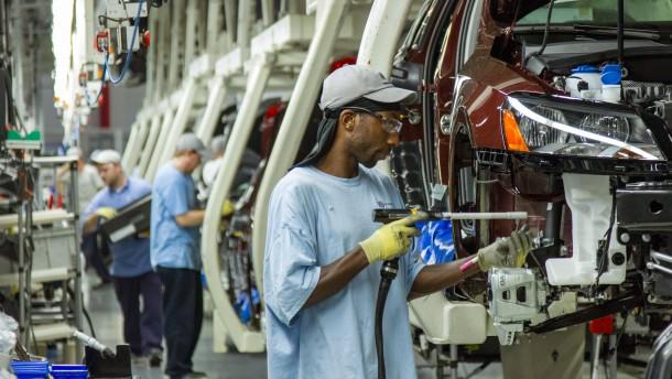 Dax hält seine Gewinne vor Jobdaten aus Amerika