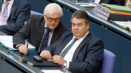 Elefantenrunde im Bundestag