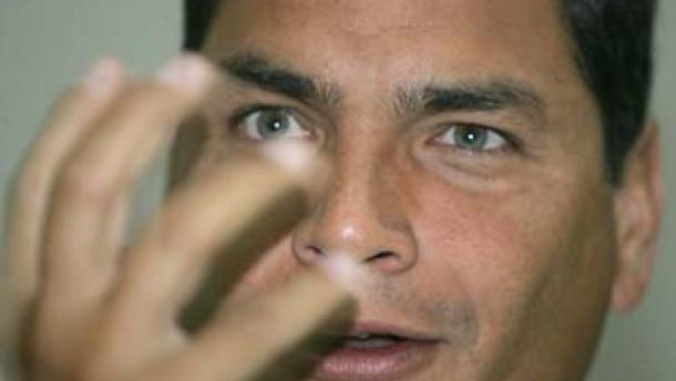 Wahlkampf läßt Ecuador-Anleihen abstürzen