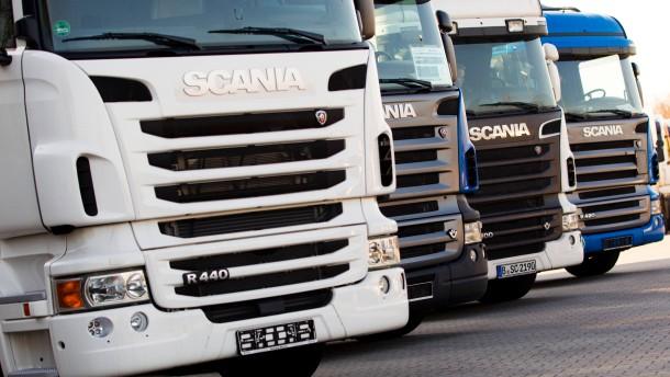 Ablehnung des Scania-Angebots belastet VW-Aktie