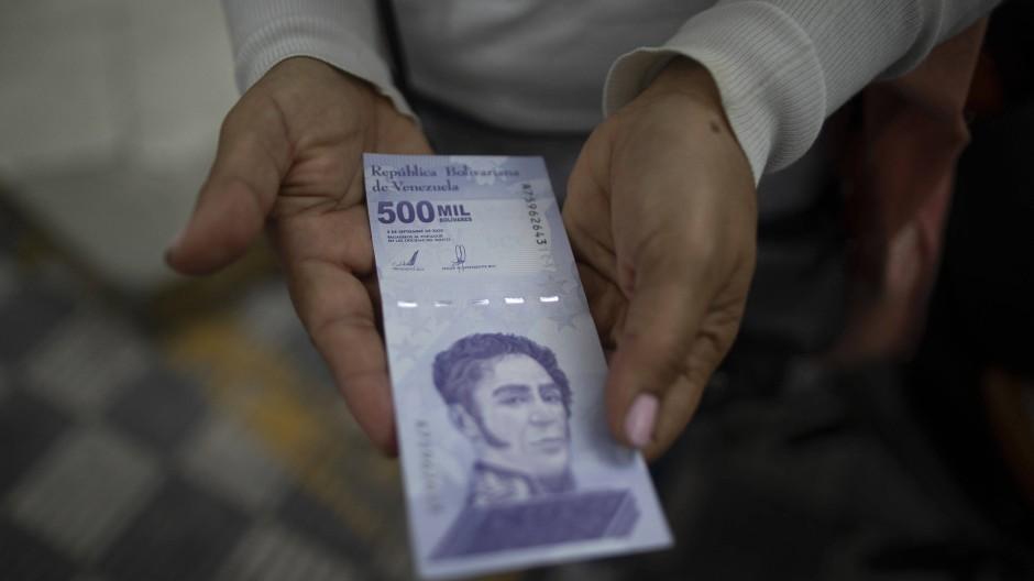 Es muss ja nicht immer so ausgehen mit der Inflation.