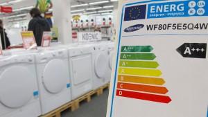 Neue Energielabels für Haushaltsgeräte