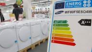 Verbraucher sollen sparsame Haushaltsgeräte leichter erkennen